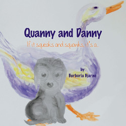 'Quanny and Danny' by Barboria Bjarne – Front Cover Image.